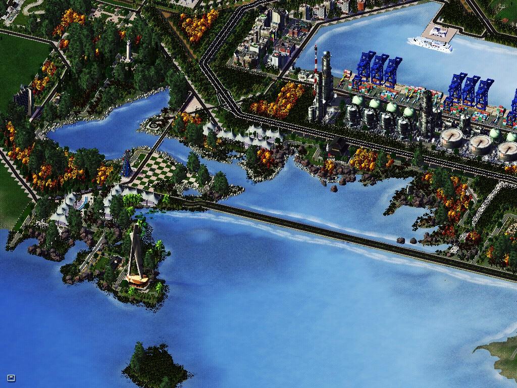 易州市东门区 - 第2页 - 城市规划展示馆 - 模拟城市